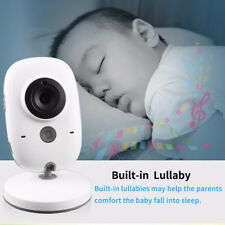 4 Plug Type Wireless Video Baby Monitor Color Security Camera Talk Night Vision
