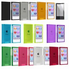 Color Plastic Hard Cover Case Skin For iPod Nano 7G 7th Generation 7+Protector