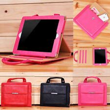 Handbag Leather Magnetic Smart Stand Case Cover for iPad 2 3 4 Mini Air Pro New