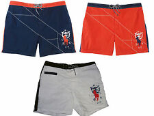 Polo Ralph Lauren Mens Big Pony Navy Red Molokai Swim Trunks Surf Board Shorts