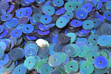 3/4/6mm Teal Green Shiny Iridescent Sequins Sheen Round Sequins