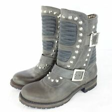 Sendra boots high heels ladies shoes size 41 37 Biker Leather NP 319 NEW
