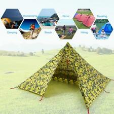 Backpacking Hiker Tent 2 Person Ultralight Double-Side Camping Tent *NEW* Y4N6