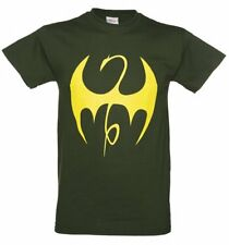 Official Men's Green Marvel Comics Iron Fist Uniform T-Shirt