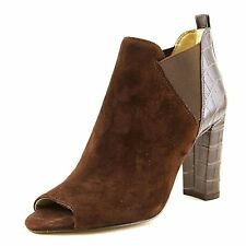 Marc Fisher SAYLA Womens Suede Closed Toe Ankle Fashion Boots Fashion Boots