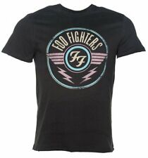Official Men's Charcoal Foo Fighters FF Air Logo T-Shirt from Amplified