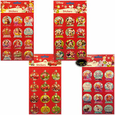 Disney - 3D Christmas Stickers with glitters - Frozen - Mickey - Cars - X-mas