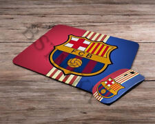 FC Barcelona logo emblem wireless computer optical mouse + mousepad mouse pad
