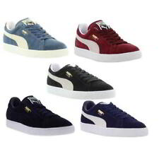 Puma Suede Classic Mens Womens Black Red Blue Suede leather Trainers Size 4-12