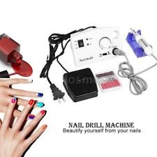Electric Nail Art File Drill Manicure Pedicure Acrylic Polish Bit Tool Kit A7N8