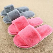 Winter Slippers Women Soft Sole Warm Plush Slipper Ladies Cotton Home Shoes New