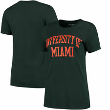 Miami Hurricanes Champion Womens Champion University  T-Shirt