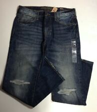 NWT American Eagle AEO Men's Original Straight Medium Vintage Destroyed Jeans