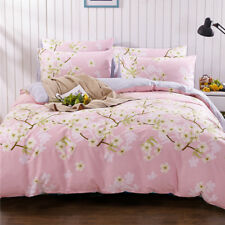 Pear Floral Doona Duvet Quilt Covers Set Single Double Queen King Size Bed Cover