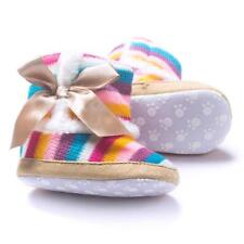 Baby Girl Winter Warm Shoes Soft Sole Snow Boots Soft Crib Shoes Toddler Boots