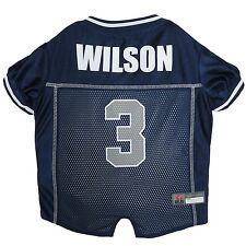 Russell Wilson Seattle Seahwaks NFL Football Officially Licensed Dog Jersey