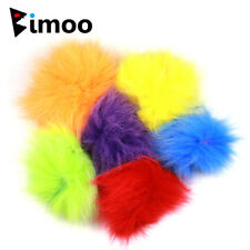 6 Color Mix Fox Fur Bait Fish Natural Fine Fiber Fly Tying streamer Material