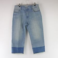 Isabel Marant Jeans Trousers Size 38 40 Blue Faded Denim Distressed NP 170 NEW