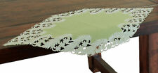 Xia Home Fashions Laurel Embroidered Cutwork Table Runner