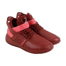 Supra Skytop V Mens Red Synthetic High Top Lace Up Sneakers Shoes