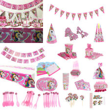 Unicorn Theme Party Supplier Wedding Birthday Party Banner Tableware Gift Bags
