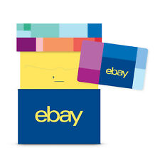 eBay Physical Gift Card + Gift Box $25 to $200 - Mail Delivery