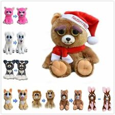 Soft Plush Stuffed Scary Face Toy Animal With Attitude Funny Toys Feisty Pets