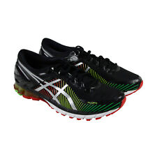 Asics Gel Kinsei 6 Mens Black Synthetic Athletic Lace Up Running Shoes