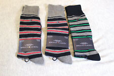Tommy Hilfiger Men gray striped  socks a lot of 3 pairs size 10-13