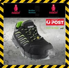 Mascot 'Mont Blanc' Black/Green Composite Toe Cap Work/Safety Shoe RRP $220!!!