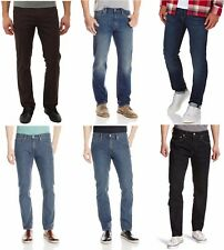 Levis 511 Slim Fit Jeans Mens Low Rise Slim Slightly Tapered Leg Zip Fly Denim