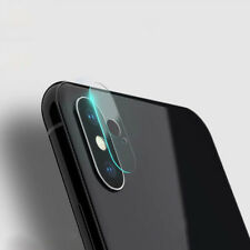 Back Rear Camera Lens Screen Tempered Glass Protector Cover Film For iPhone X