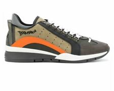 Dsquared2 551 Sneakers Grey Multi M1047 Leather Dsquared Trainers