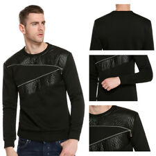 Casual long-sleeved T-shirt 1Pcs Round neck hoodie Men's long-sleeved T-shirt
