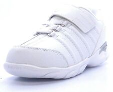 K-SWISS 22810-155 DECHANE VLC Inf's (M) White/Silver Leather Lifestyle Shoes