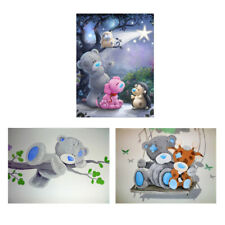 5D Bear Diamond Embroidery Painting Cross Crafts Stitch Home Wall Decor Kit