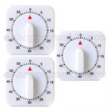 1 Hour Long Ring Bell Alarm Loud 60-Minute Kitchen Cooking Timer Mechanical