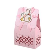 12pcs Baby Infant Birthday Paper Hollow Laser Sculpture Candy Box Party