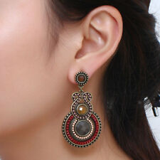 Bohemia style earrings women jewelry vintage accessories decorate beads