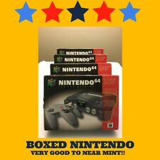 BOXED Nintendo 64 Console with 1 GREAT GAME!  VERY GOOD TO NEAR MINT!!!