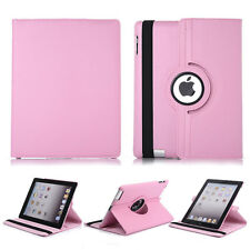 PU Leather 360 Rotating Magnetic Smart Stand Case Cover For Apple iPad 2 3 4