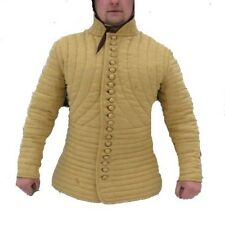 new year gift Medieval Gambeson Medieval Padded collar full sleeves