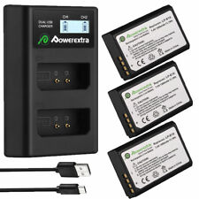 LP-E10 Battery &USB LCD Dual Charger for Canon Rebel T6 T5 EOS 1100D 1200D 1300D