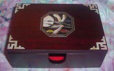 NEW Traditional Korean Jewelry Box/Card Holder w/Mother of Pearl Inlay