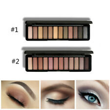 12 Colors Makeup Eyeshadow Palette Shimmer Pearl Matte Eye Shadow Cosmetics