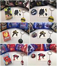 Superhero party/gift/loot bag fillers.Avengers,Spiderman & Batman to choose from