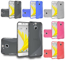 TPU Flexible [Ultra Slim] Gel Skin Case Phone Cover For HTC Bolt / 10 EVO