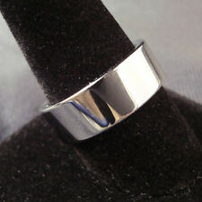 Men Tungsten Carbide Silver Flattop Wedding Band Ring 8mm Size 9,10,11,12,13