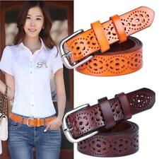 Women's Stylish Waist Belt Without Drilling Top Quality Straps Solid Pattern New