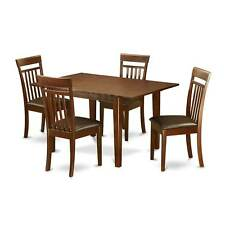 5-piece Kitchen Dinette Table and 4 Dining Chairs